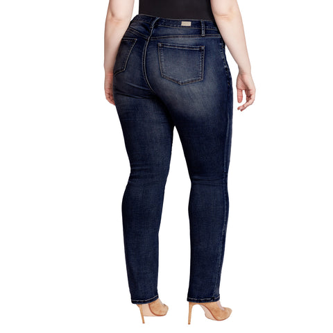 Mid-Rise Straight Jeans - Lexington (Plus)