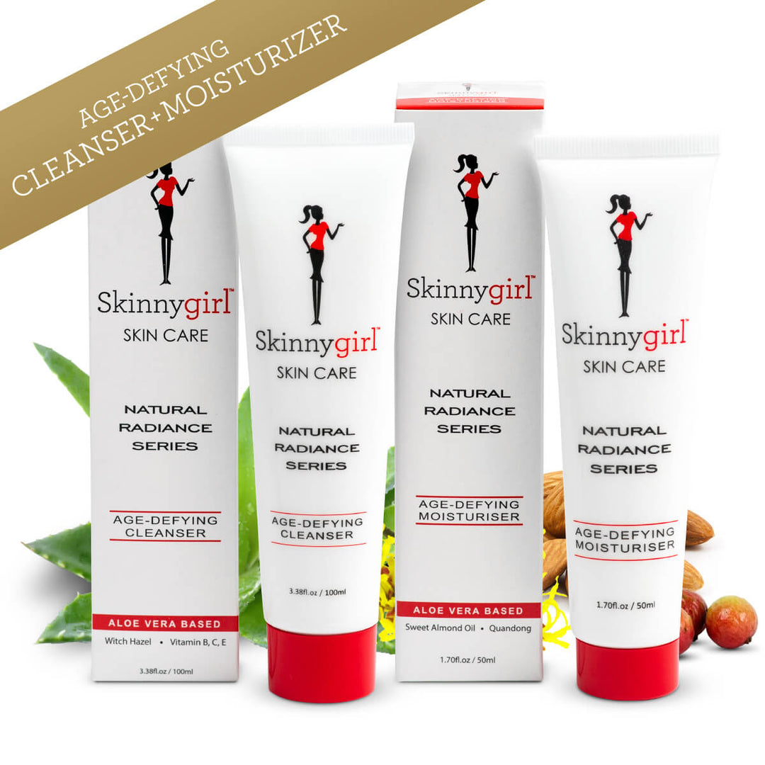 Bundle: Natural Radiance Series Age-Defying Cleanser + Moisturizer