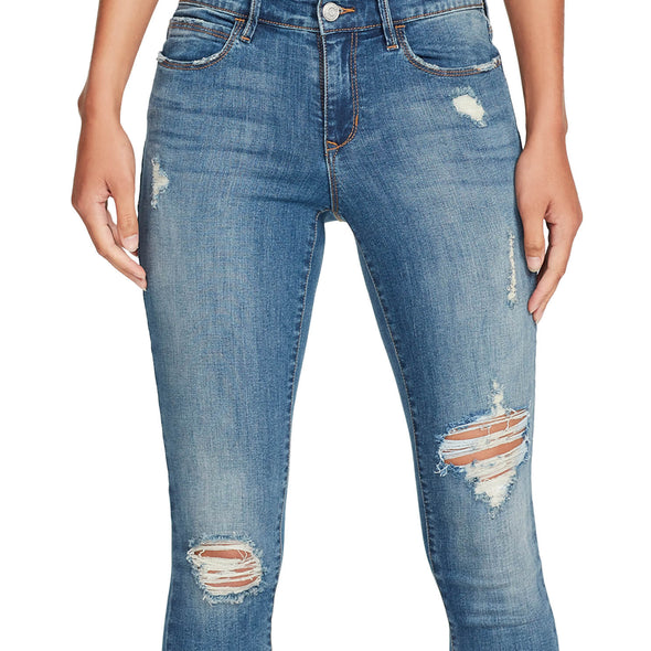 Mid-rise Skinny Jeans Distressed - Westerlo