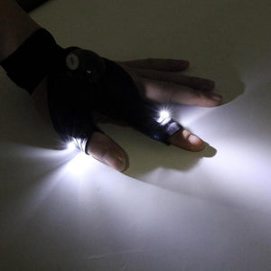 Finger LED Glove