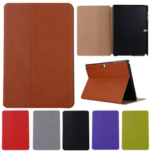 Load image into Gallery viewer, Fashion Book Leather Tablet Case