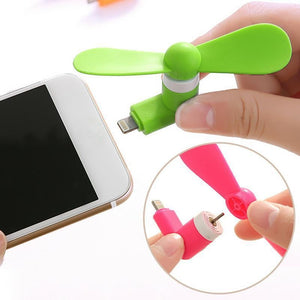 Portable Cool Micro USB Fan