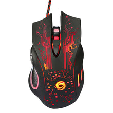 Load image into Gallery viewer, LED Optical Wired Gaming Mouse