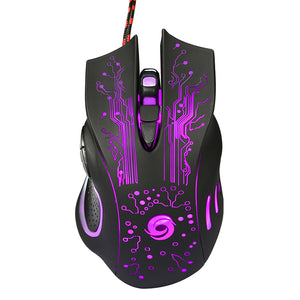 LED Optical Wired Gaming Mouse