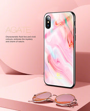 Load image into Gallery viewer, Soft Edge Agate Pattern Case