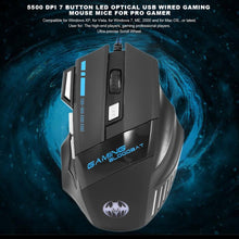 Load image into Gallery viewer, Wired Computer Gaming Mouse