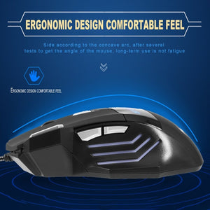 Wired Computer Gaming Mouse