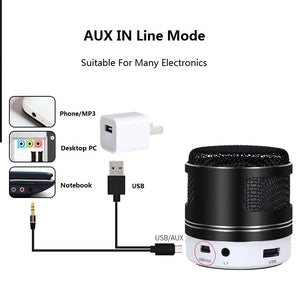 Mini Bluetooth With Mic Speaker
