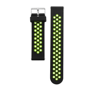 Double Color Silicone Smartwatch Strap