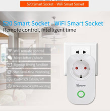 Load image into Gallery viewer, Smart Wifi Power Socket