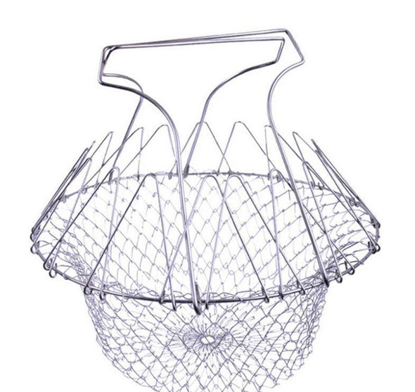 Expandable Fry Basket