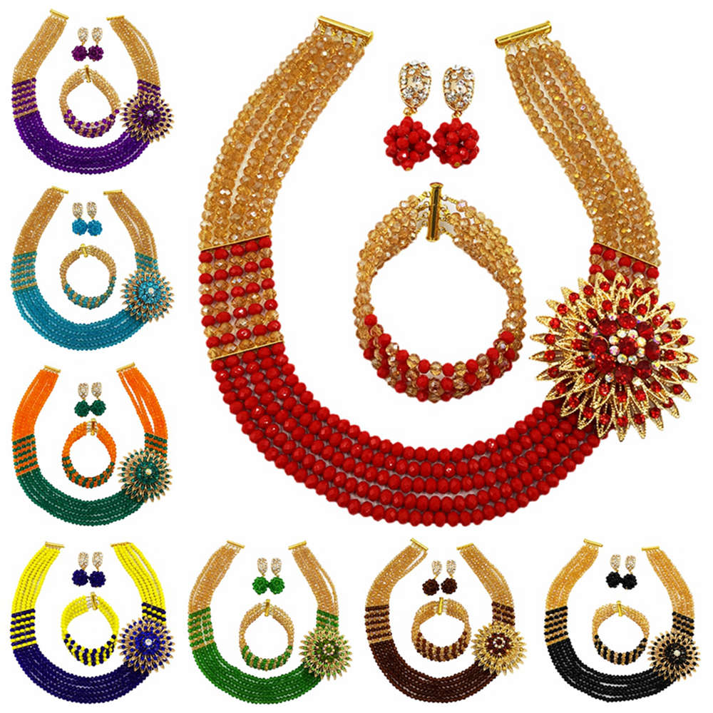 Traditional Beads Jewelry Set