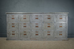 Elm & Cast iron table