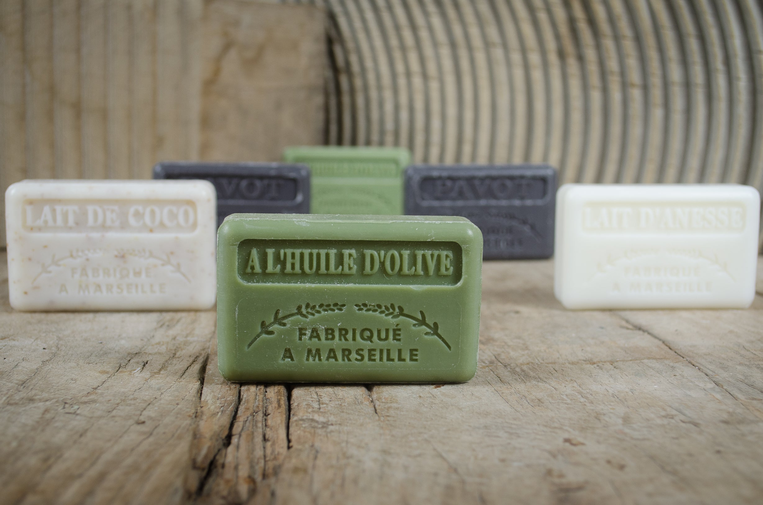 French organic soap