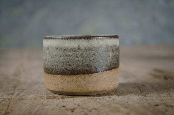 Stoneware pinch pot