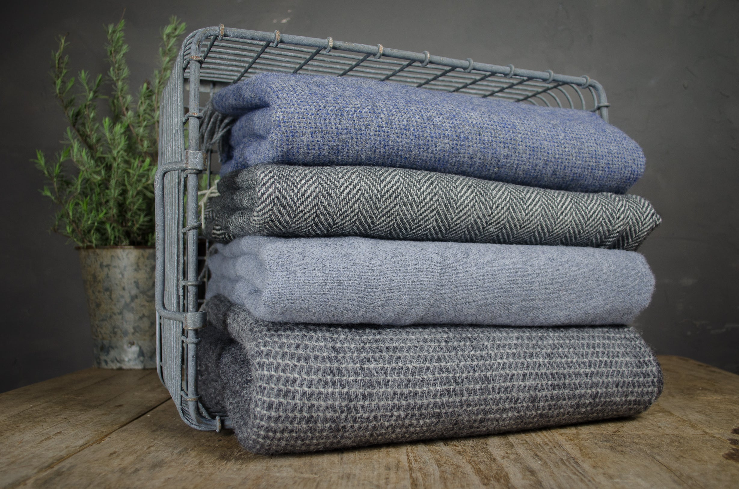 Relish wool blankets