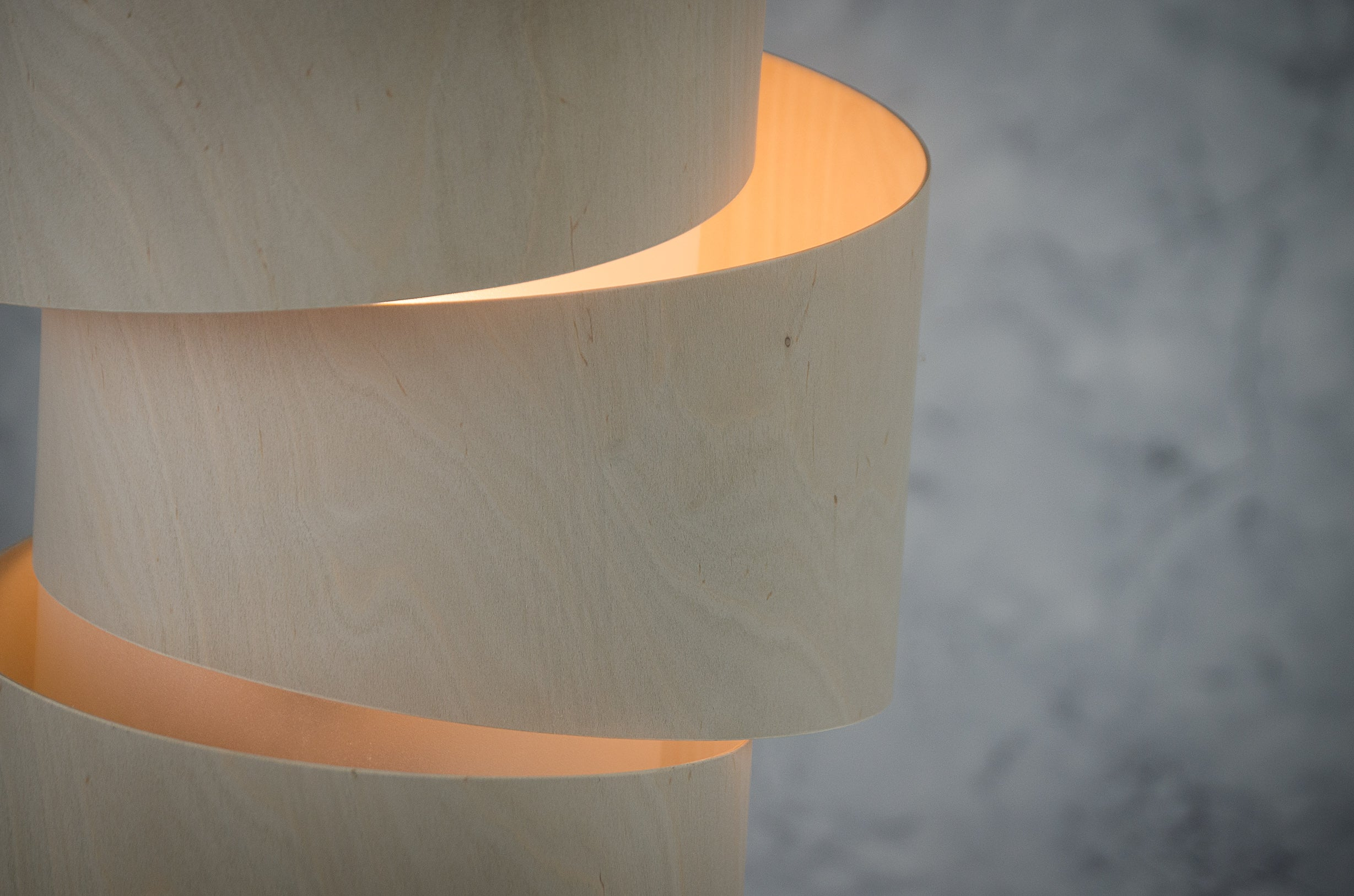 Handcrafted in Devon using sustainable woods, these lamps make great statement pieces for any modern interior. Oak base with bent birch ply & opaque polypropylene shade. These are made to order and take 10-14 days delivered direct to you.
