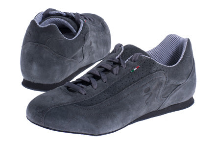 Mens Nubuck Leather Trainers