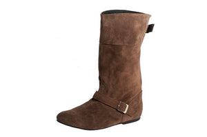 Model: Dance Boot (mid-height): Chocolate Brown