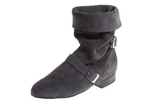Model: Folding Dance Boot: Pewter Grey