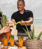 Aloe Cutting Demonstration & Gift Giving (45 minutes - 2 hours).