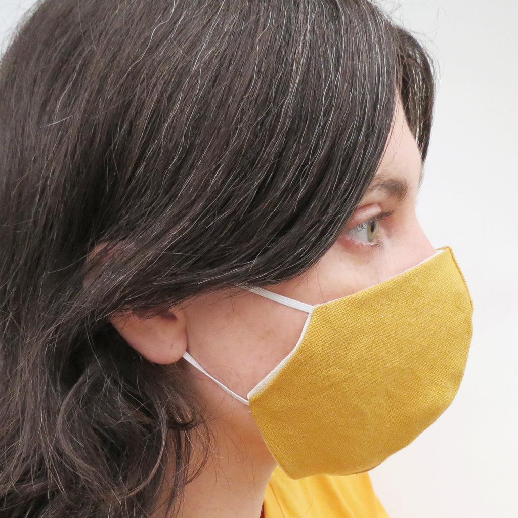 Linen Reversible Face Mask