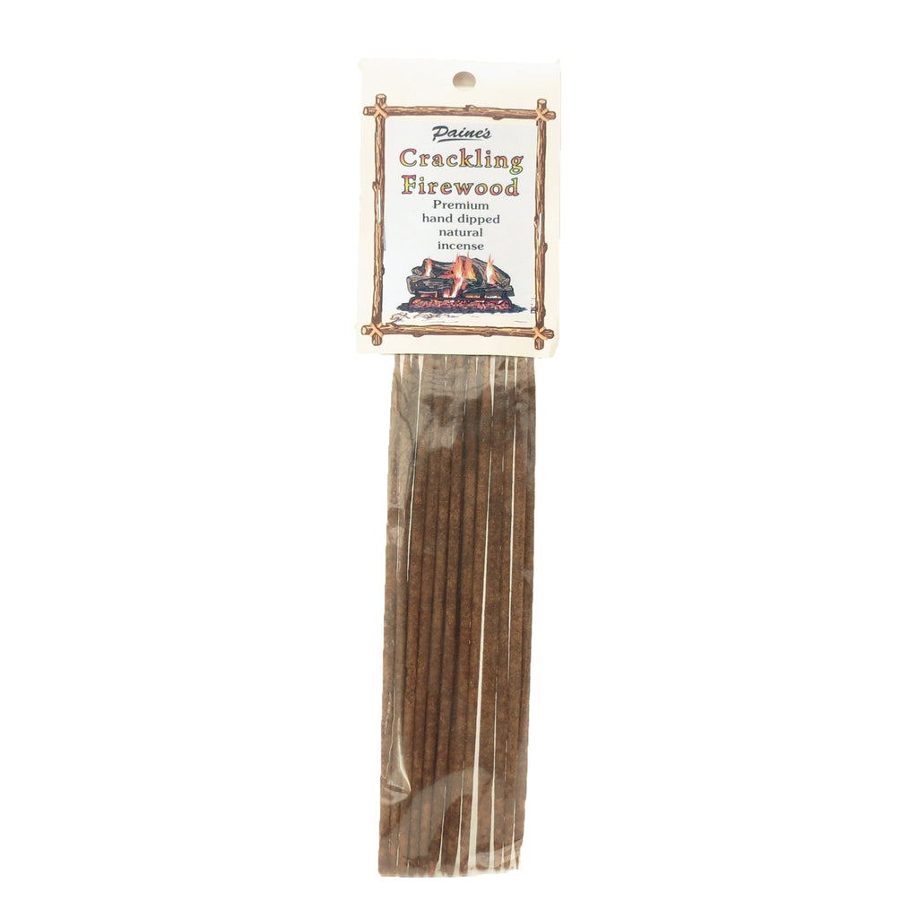 Paine's Products Inc.- 20 'Crackling Firewood' Incense Sticks