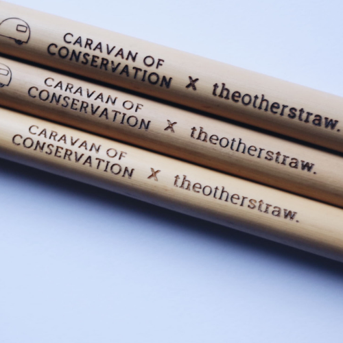 Customised bamboo straws