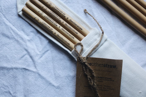 Peronalised bamboo straws