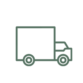 icon of a truck representing free shipping