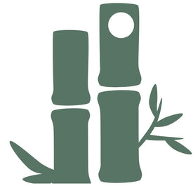 green icon of sustainable bamboo