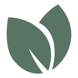 green icon of leaves representing zero waste