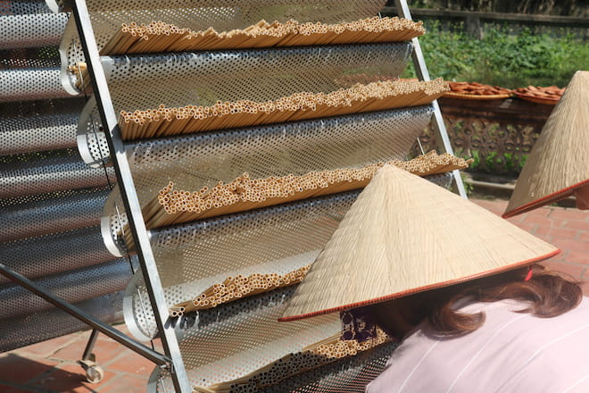 sustainable bamboo straws production