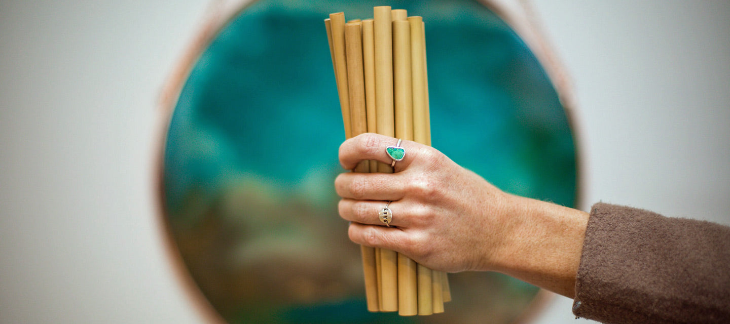 sup sustainably bamboo straws