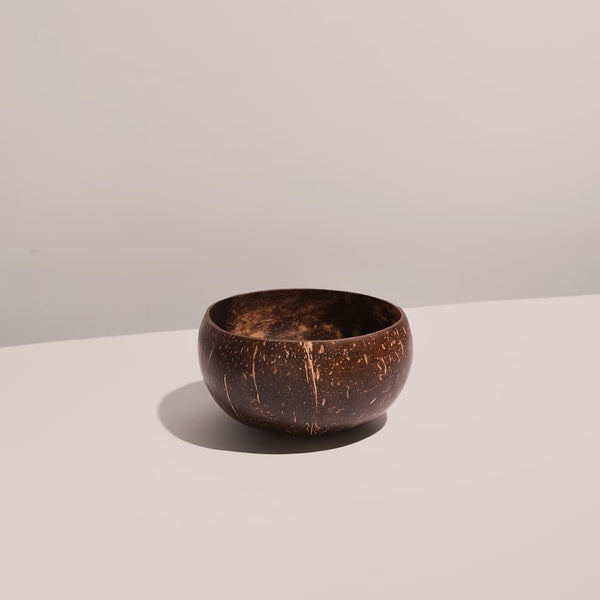 jumbo coconut bowl with white background