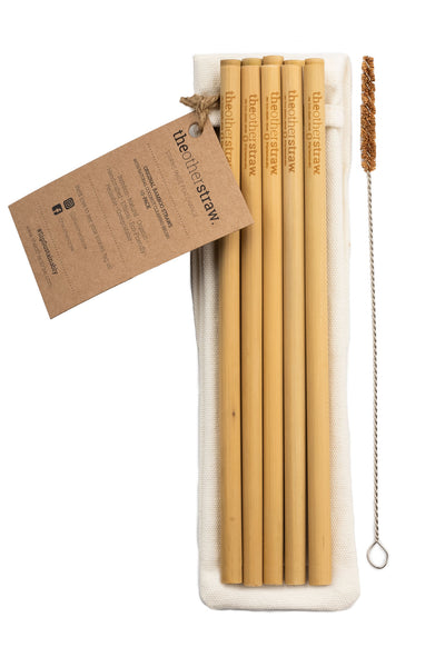 original bamboo straws 10-pack