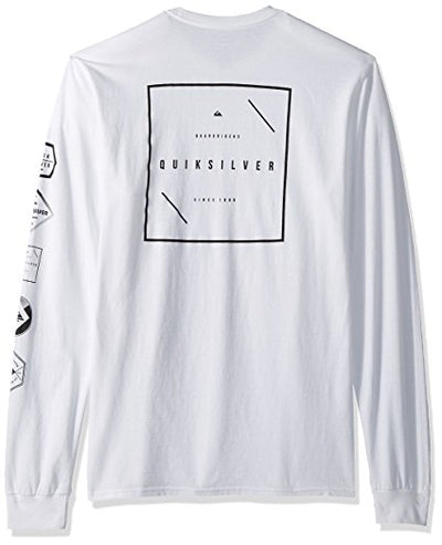Quiksilver Men's Heavy Mix Long Sleeve Tee