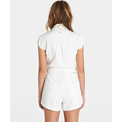 Billabong Junior's Believe in Me Denim Romper