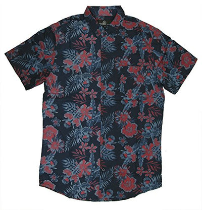 M MOLOKAI SURF Official Molokai Button up Slim Fit Hawaiian Short Sleeve Shirts