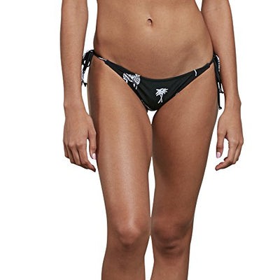 Volcom Women's Z For Zebra Tie Side Bikini Bottom