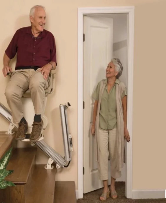 Pinnacle Stairlift SL600 - With Folding Rail