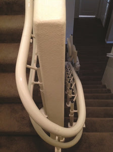 Custom Curved Stairlift </br> Helix