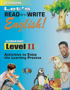 AI-RW033 Let's Read and Write English! Level II