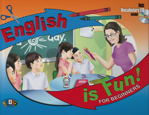 AI-L001 English is fun! For Beginners (Includes Basic Vocabula