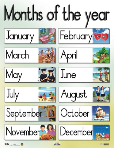 AI-C005 Months of the year