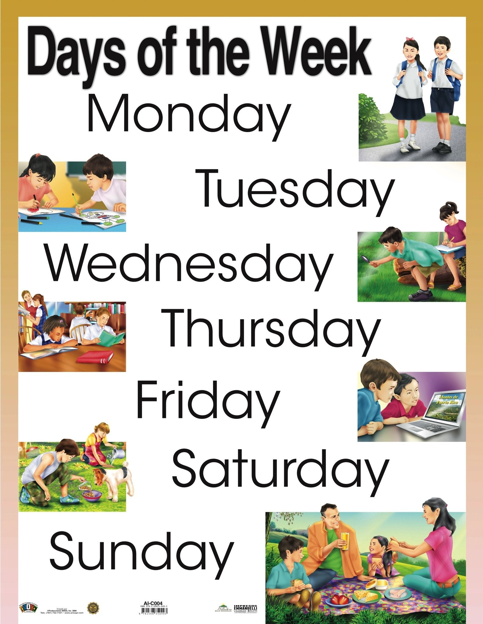AI-C004 Days of the week
