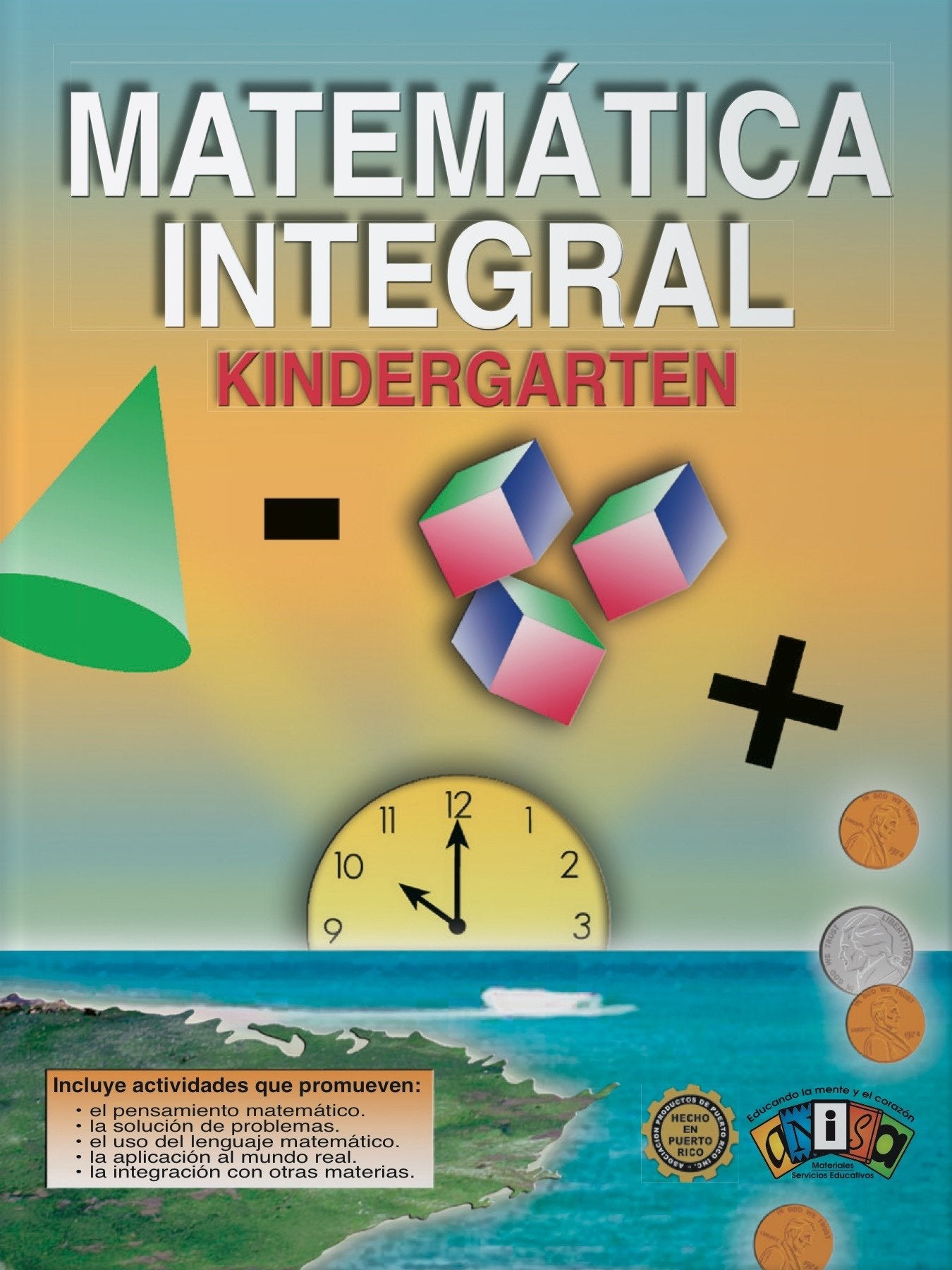 AM-L001 Matemática Integral - Kindergarten