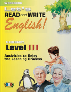 AI-RW034 Let's Read and Write English! Level III • 2018