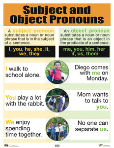 AI-C033 Subject and Object Pronouns