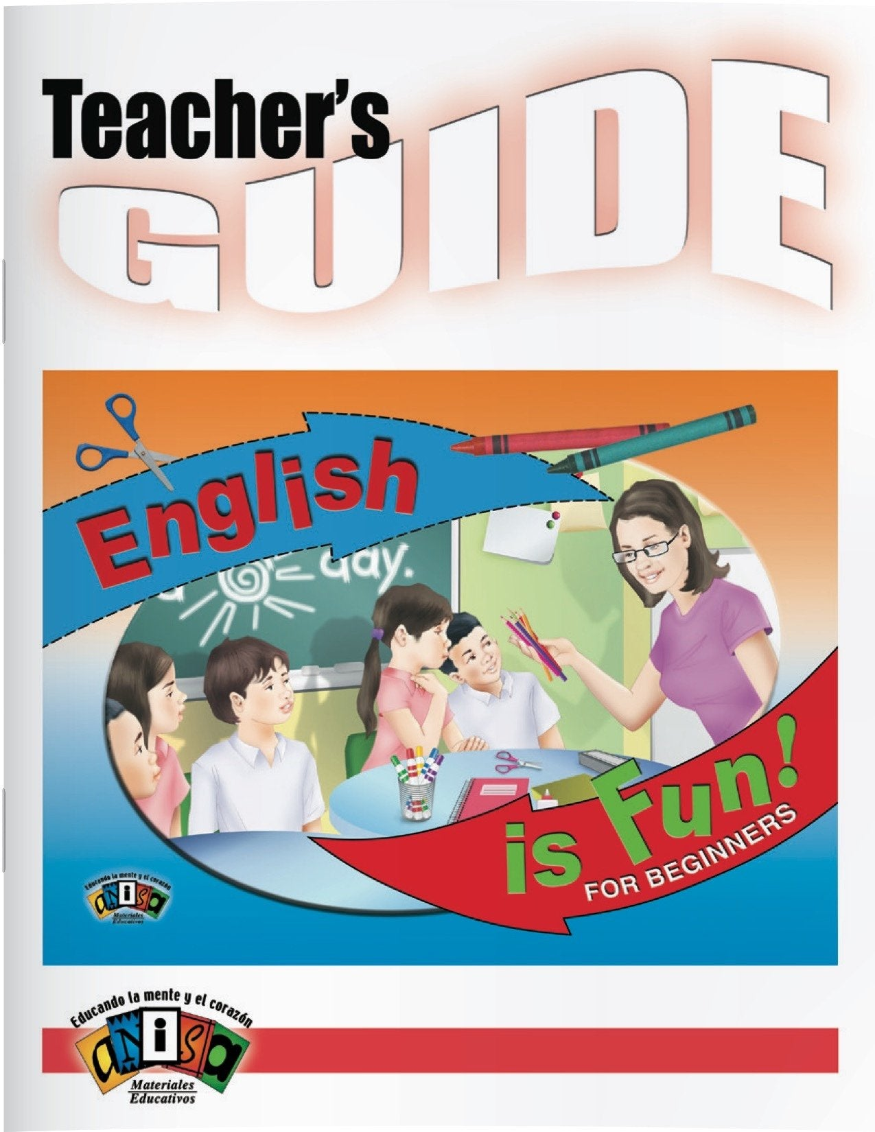 AI-L000G English is fun! For Beginners (Teacher's Guide)